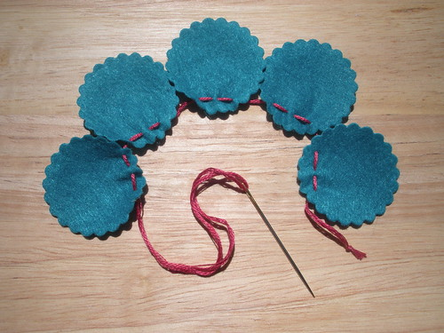 Felt Flower Tutorial 3