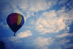 (Tom Cadrin) Tags: blue sky hot festival tom clouds sunrise ma air balloon dramatic august hudson 2010 bloon cs4 cnaon cadrin