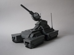 Scorpion Tank (ViroM) Tags: lego halo scorpion unsc pewpew spartanlasergoesfwoshhh