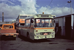 Graham's Bus Service, Paisley Leopard recovery vehicle (miledorcha) Tags: bus coach leopard alexander paisley hawkhead recovery leyland gbs brakedown ytype recoveryvehicle brakedownlorry alexandery grahamsbusservice gbspaisley
