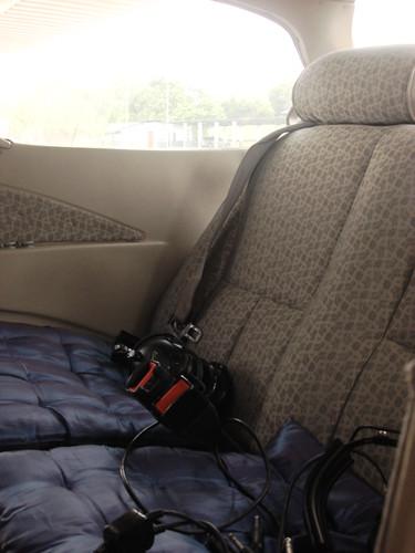 KL by air - passenger seats