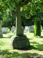 Arthur Conan Doyle's grave