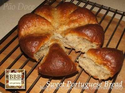 Sweet Portuguese Bread (BBB)