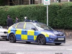 Ford Focus ST ANPR Glasgow    (SF 10 DVY) (seifracing) Tags: seifracing police uk scotland ford focus spotting britain ecosse sf10dvy