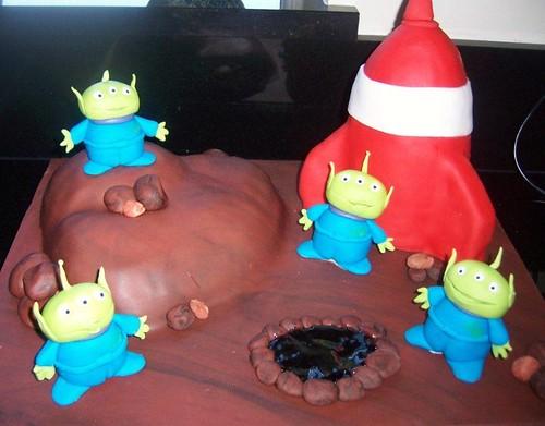 LGM alien cake