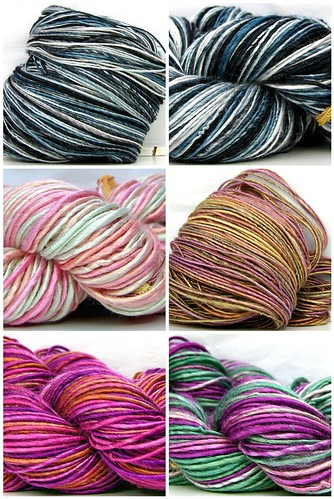 New HandSpun Bamboo Yarns