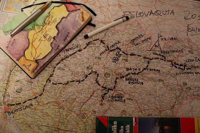 Eslovaquia, la ruta