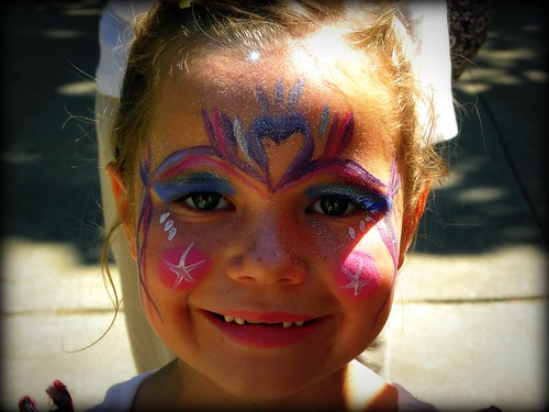 Face paint at the fair