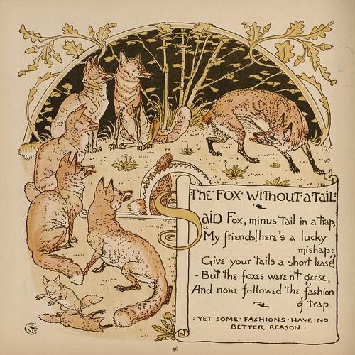 Vulpes et Cauda Detruncata