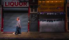 Morning stroll (Dennis Herzog) Tags: newyorkcity urban walking walk manhattan lowereastside streetscene walker stroll mygearandme