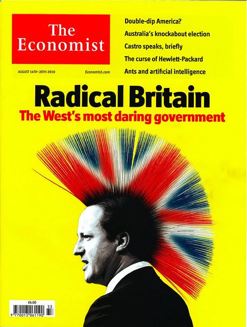Radical Britain Economist cover