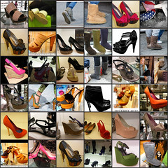 LOVE COLLAGE : Let\'s have a LOOK into the SHOE CLOSET : ENJOY THE HEELS & MORE : A LADIES DREAM : GO ON! What\'s your FAVE? You can leave a note on your FAVE PAIR OF SHOES! ENJOY! :)
