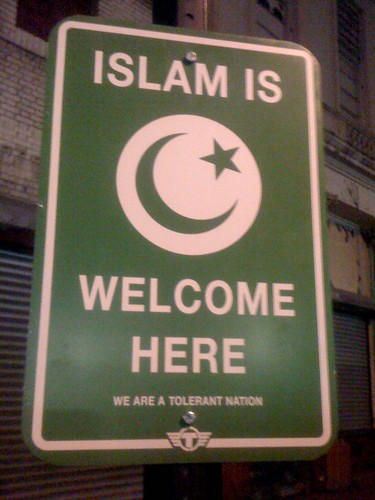 ISLAM IS WELCOME HERE - WE ARE A TOLERANT NATION by TrustoCorp