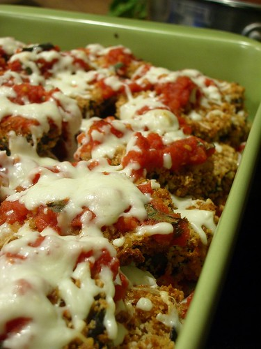 Light Eggplant Parm