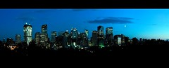Downtown Calgary Skyline (Surrealplaces) Tags: calgary tower skyline skyscraper downtown cityscape alberta bluehour