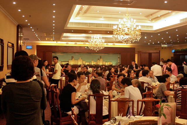Hong Kong Old Restaurant has a vibrant, welcoming vibe