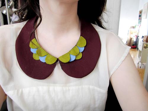 fall collar no. 1 - petals