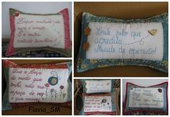 Almofadas (flavia_sm1963) Tags: feltro patchwork bordado