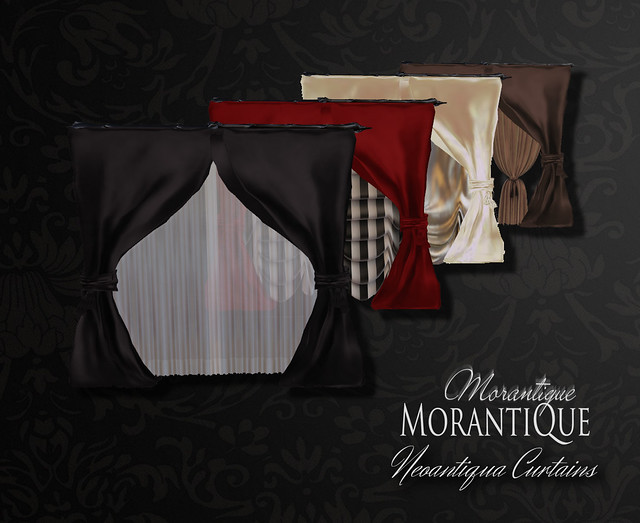 Neoantiqua Curtains - new in Morantique
