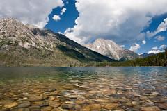 Jenny Lake, Grand Teton National Park (cmckulka) Tags: usa mountain lake water landscape unitedstates wyoming grandtetonnationalpark