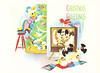 Disney Characters Christmas Postcard (crayolamom) Tags: christmas vintage postcard disney reprint