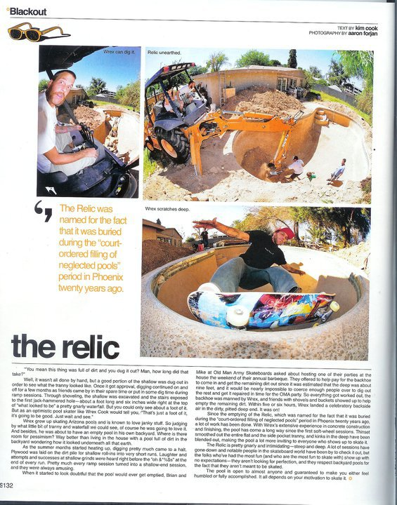 Wrex in the Skateboard Mag
