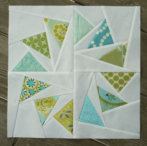 Circle of Geese block for Renee