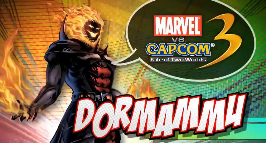 Dormammu on Marvel vs Capcom 3