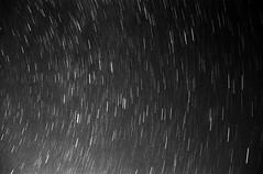 Star Trails 1 (Jason Arends) Tags: longexposure blackandwhite film night 35mm astrophotography ilforddelta400 startrails fe2 ilforddelta kodakhc110 film:iso=400 film:brand=ilford film:name=ilforddelta400 developer:brand=kodak developer:name=kodakhc110 filmdev:recipe=5988