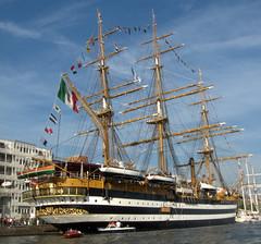 Amerigo Vespucci (kismihok) Tags: holland netherlands amsterdam boat parade panasonic sail tallships ij sailin amerigovespucci sail2010 fz28