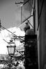 (...storrao...) Tags: bw man portugal lamp nikon lisboa balcony pb nb photowalk homem alfama candeeiro varanda d90 storrao sofiatorrão nikond90bw lxpw