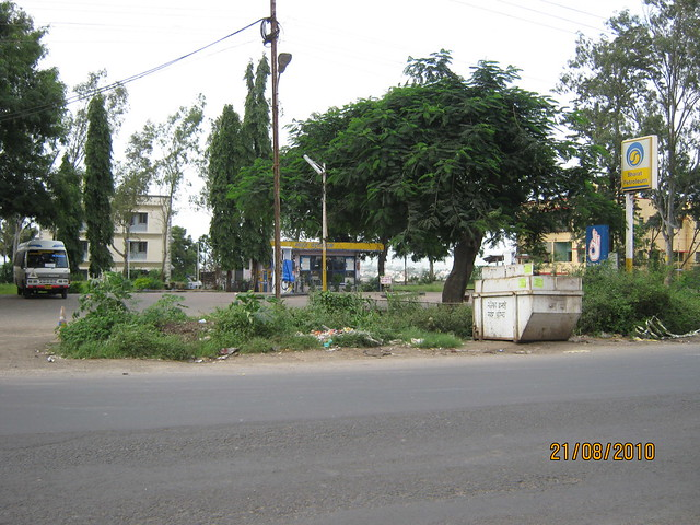 Petrol Pump on Talegaon Chakan Road