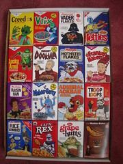 Star Wars Cereal Boxes (THEREALGINGERPRINCE) Tags: real star track 5 five cereal celebration v boxes wars panels collectible cheerios collecting oneofthesetofsixteenstarwarsthemedcerealboxesgivenawayatcollectingpanelsatstarwarscelebrationvbetweenaugust 12thto15th 2010thecollectiblecerealboxesarebasedonstarwarscharactercerealbrandshighlightingeachofthesixteenpaneltopics