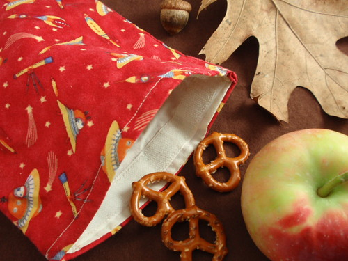 L'eco snack bag: il porta merenda ecologico