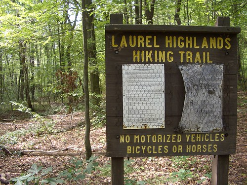 The Laurel Highlands Hiking Trail, miles 46-38