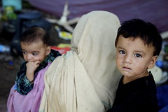 Pakistan's Flood Victims in Makeshift Shelters