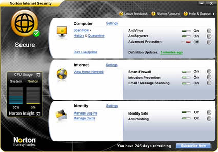 Norton Internet Security: Seguridad Comprobada