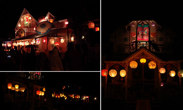 grand illumination in oak bluffs, martha's vineyard