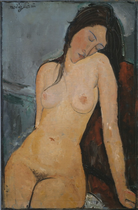 Amadeo Modigliani, Female Nude, 1916