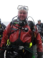 dry on the inside (squeezemonkey) Tags: scotland boat isleofskye mask diver raining elenac regs holborndiver