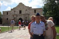 Visiting The Alamo after graduation (baltic_86 (mostly off)) Tags: sanantonio texas tx military airforce bootcamp bulldogs thealamo lackland baltic86 graduation62510 trs326
