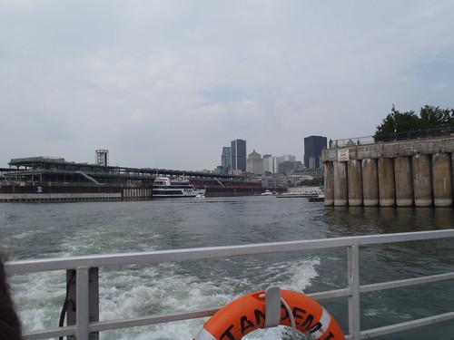 Ferry from Vieux Port du Montréal to Longueuil