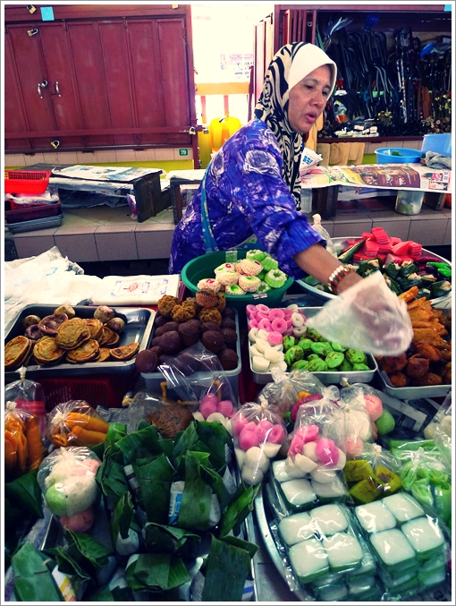 Trader Selling Kuih-Muih