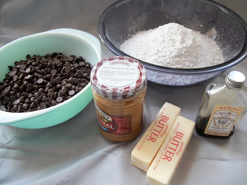 the ingredients for buckeyes