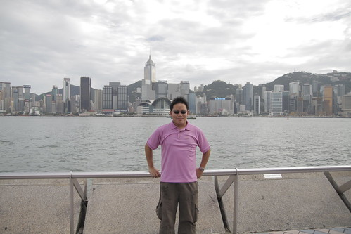 Me, at Hong Kong!