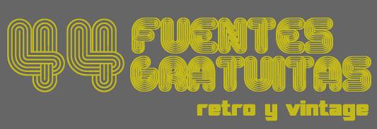 Fuentes tipograficas retro y vintage gratis