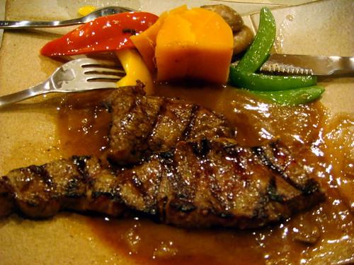 「青山松陶」餐廳-碳烤牛小排