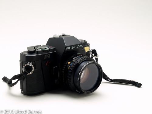 Pentax P3 35mm SLR Camera (1985-1988)