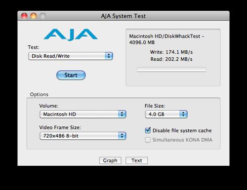 MacBook Pro 128G SSD 效能測試