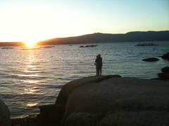 Romance at sunset (1)